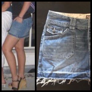 Dresses & Skirts - Denim Jean Mini Skirt